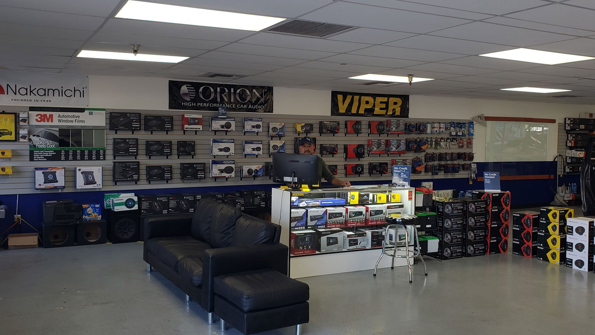 miramar car audio showroom