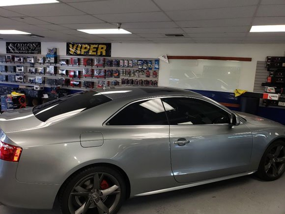AUDI A5 2017 CERAMIC WINDOW TINT 40% ALL AROUND