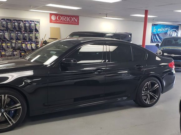 BMW 5 SERIES WINDOW TINT 35% ALL AROUND