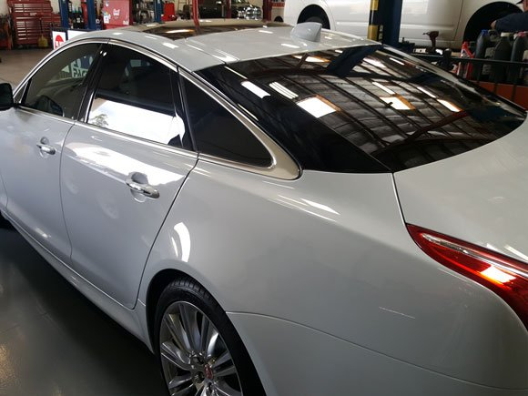 Jaguar Window Tint