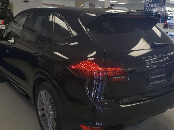 PORSCHE CAYENNE CERAMIC WINDOW TINT 40% ALL AROUND