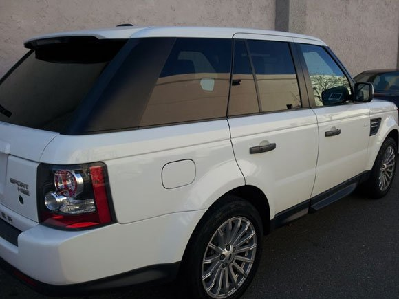 RANGE ROVER SPORT WINDOW TINT