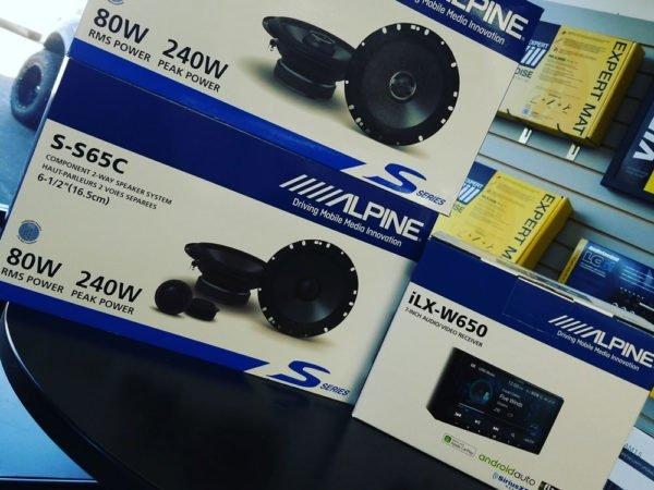alpine car audio bundle at miramar car audio