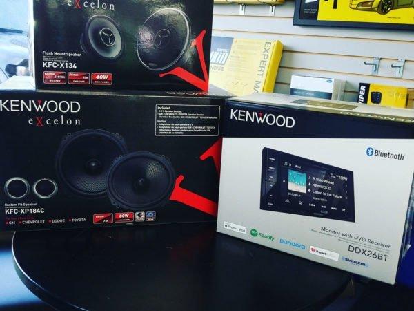 kenwood car audio bundle at miramar car audio
